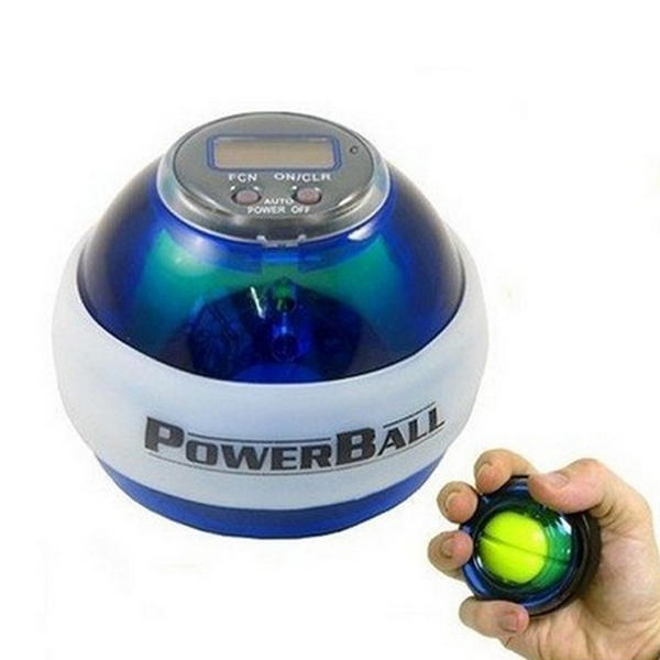 Odomètre Booster Power LED Poignet boule de poignet Round Force Ball 7 couleurs