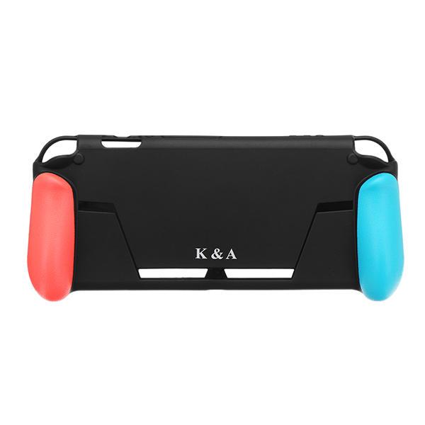 K&A Capa de proteção Caso Pega com slot de cartão de jogo para console de jogo Nintendo Switch
