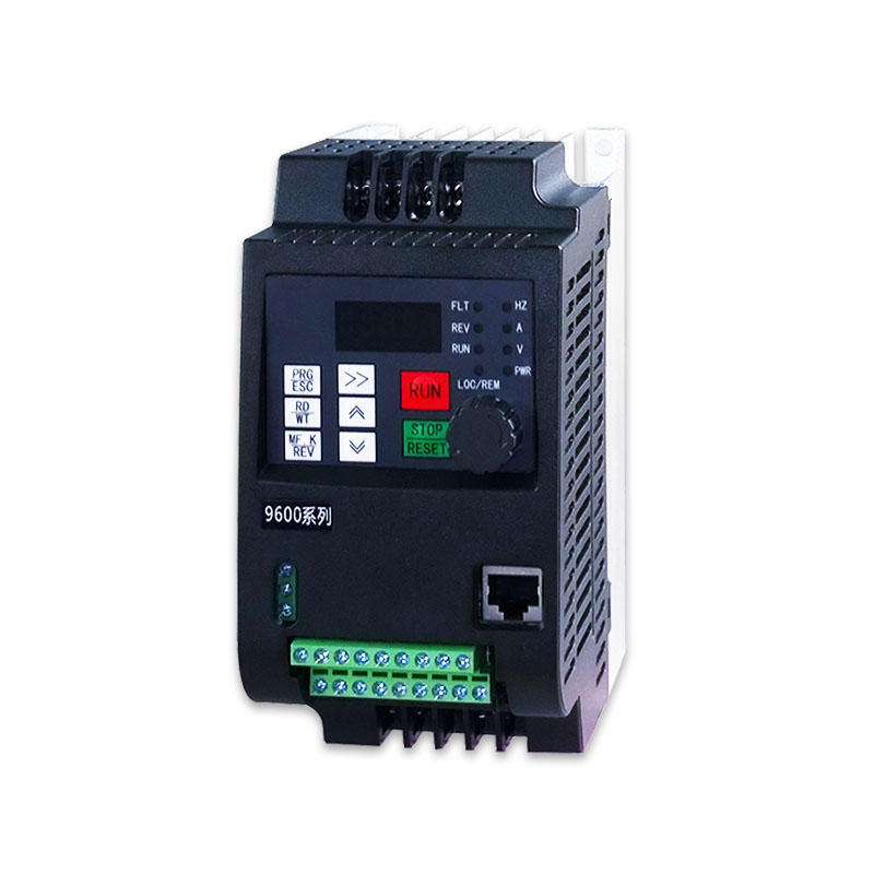 0.75KW 220V Single Phase and 380V 3 Phase Input 3 Phase Output Mini Variable Frequency Inverter Adjustable Speed Drive Converter