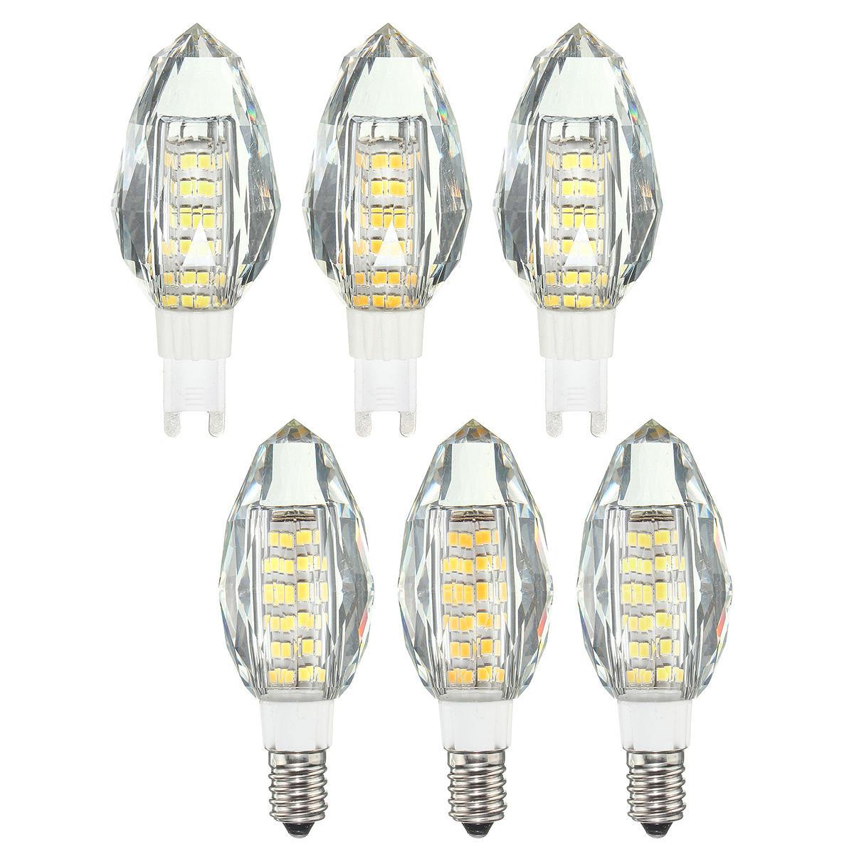 AC220V E14 G9 Non dimmerabile 5.5W SMD2835 76 luce a led Lampadina per lampadario a sospensione