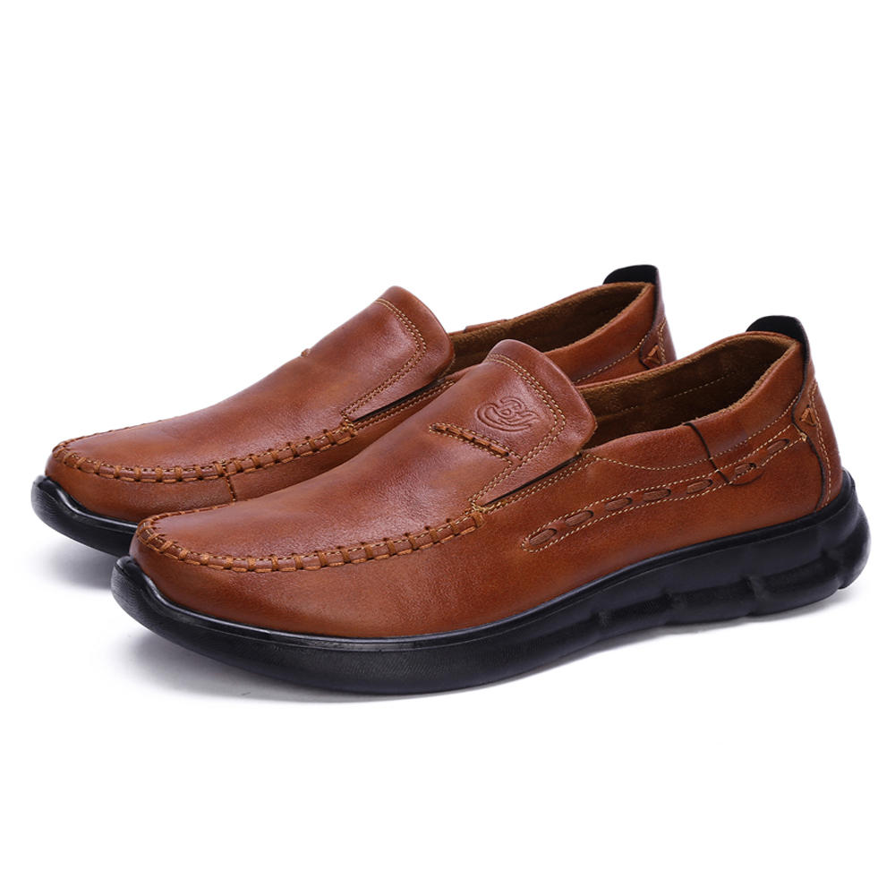 Comfy Business Casual Shoes Soft Sole Leather Oxfords