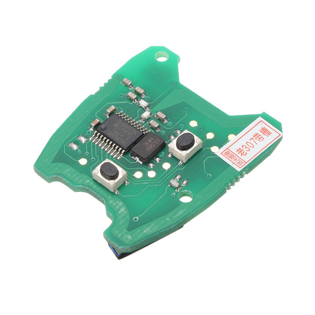 433 MHz Remote Key Circuit Board dla Peugeot 307 / Citroen 73373067C