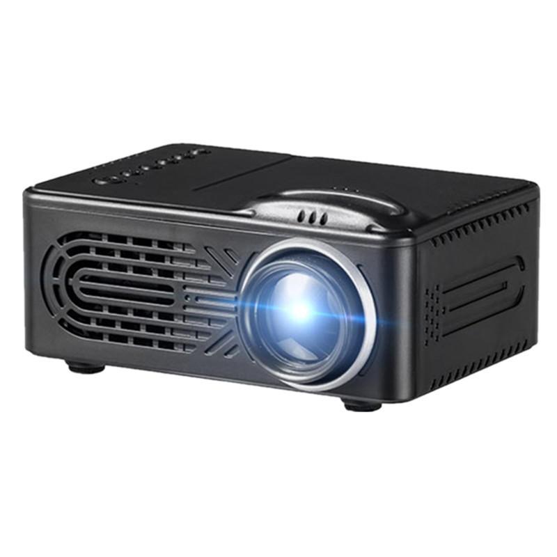 600 Lumens 1080P HD LED Projecteur Portable 320 x 240 Résolution Multimédia Home Cinéma Théâtre Vidéo