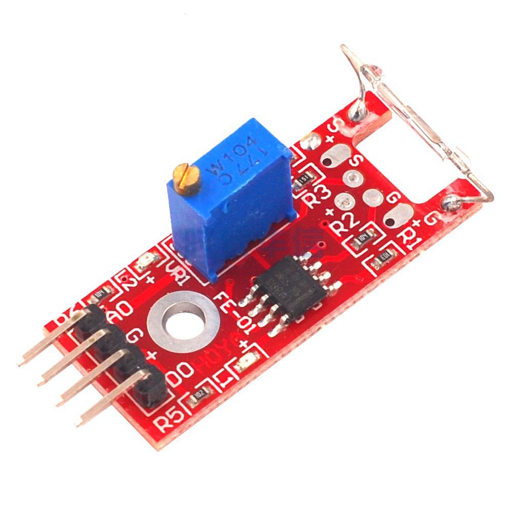 3pcs KY-025 4pin Magnetic Dry Reed Pipe Switch Magnetron Sensor Switch Module Geekcreit for Arduino - products that work with official Arduino boards