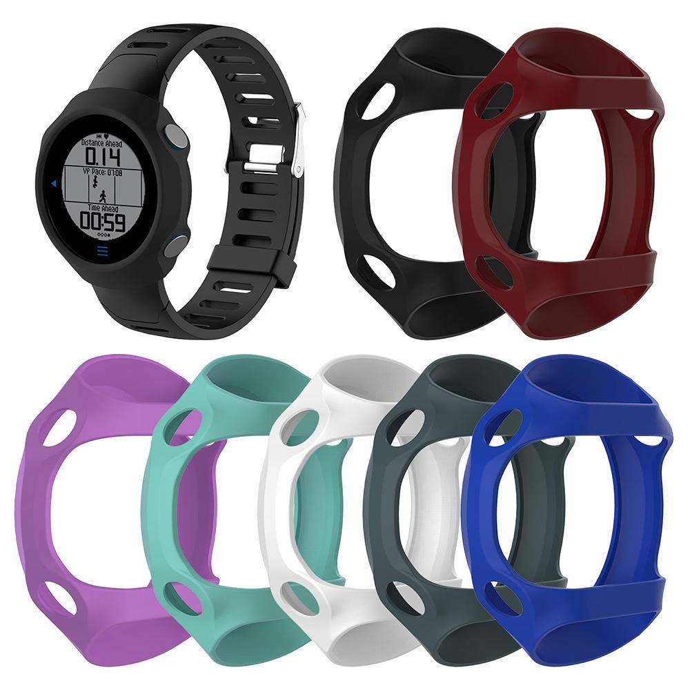 цветful Силиконовый Защитные часы Чехол Обложка Смотреть Набор для Garmin forerunner 610