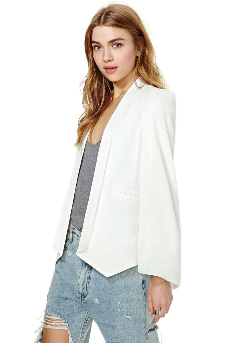 Vest without buckle chiffon  small suit women's clothing
