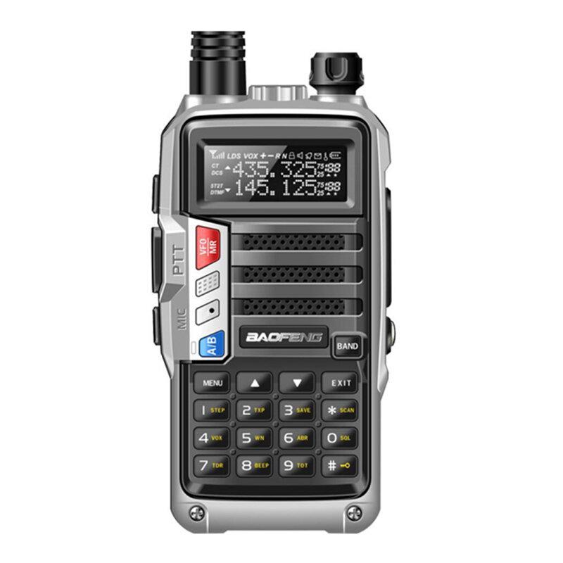 Baofeng UV5R Plus 128 kanalen 400-520 MHz 1-6 KM Dual-band tweewegs handheld radio Walkie Talkie