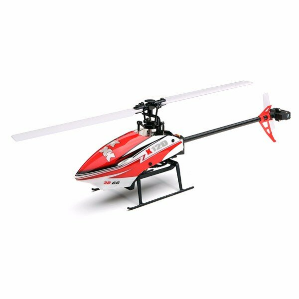 XK K120 Shuttle 6CH Brushless 3D6G System RC Helicopter BNF