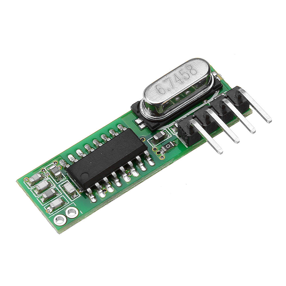 10pcs RX470 433Mhz RF Superheterodyne Wireless Remote Control Receiver Module ASK/OOK for Transmitter Smart Home