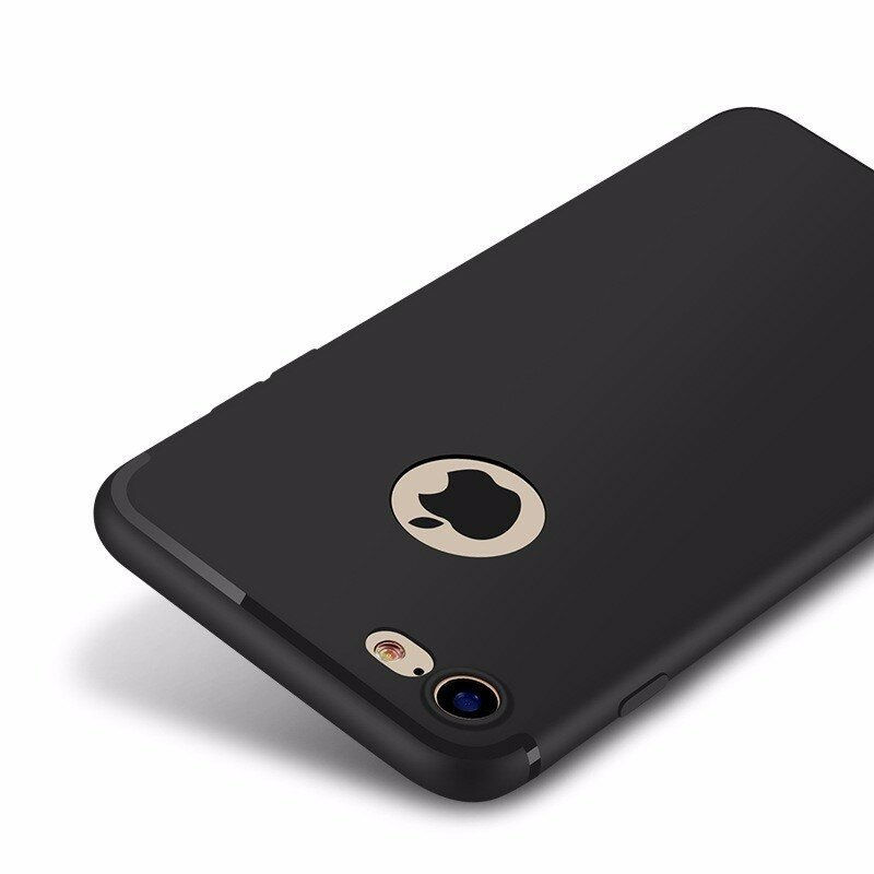Bakeey™ Ultra Thin Soft TPU Matte with Dust Plug Case for iPhone 7/8