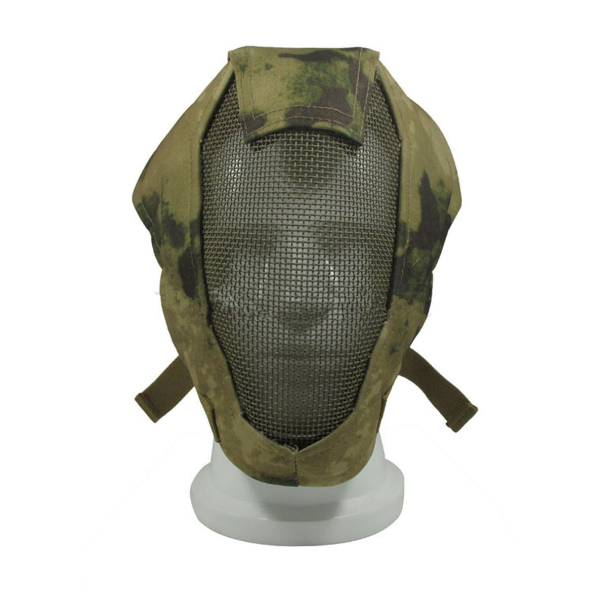 V3 Full Face Fencing Mask Iron Breathable Mesh Outdoor Tacktical Protect Masks