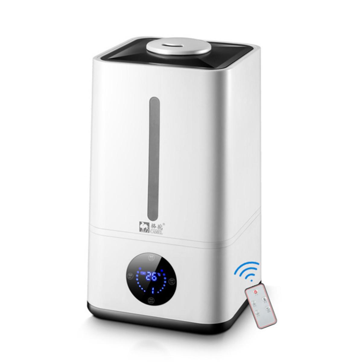 Luftreiniger Luftbefeuchter LED Anzeige Fernbedienung 4.8L Wassertank Zeiteinstellung