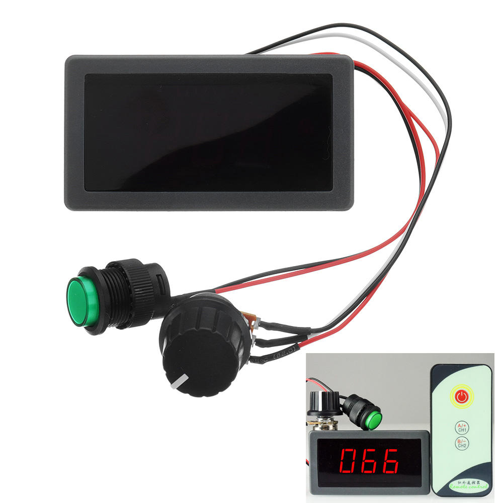 DC 6 V / 12 V / 24 V 6A / 8A PWM Motor Speed ​​Controller Digitale LED Display Variabele Snelheid regelaar Met IR Afstandsbediening