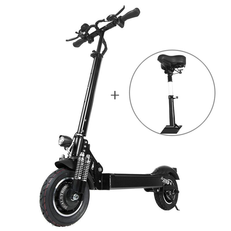 [EU Direct] Janobike 2000W İkili Motor 23.4Ah 10 inç Koltuklu Elektrikli Scooter Katlama 70km / h Maks. Hız 80km Kilometre Aralığı Azami Yük 200kg
