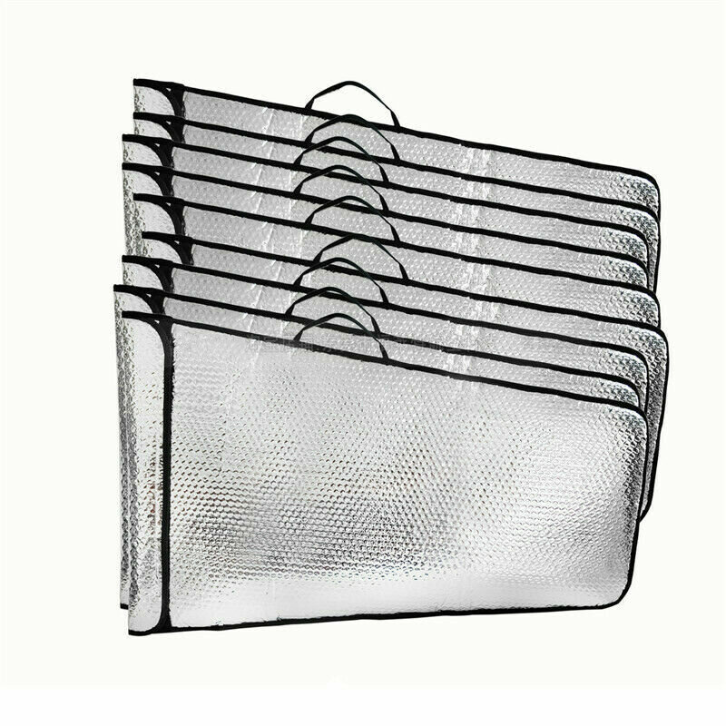 Bubble Protection Wing Tote Bag Pack Silver For 2 Wings & Tube to 70E 30CC 50CC 100CC RC Airplane Fixed-wing