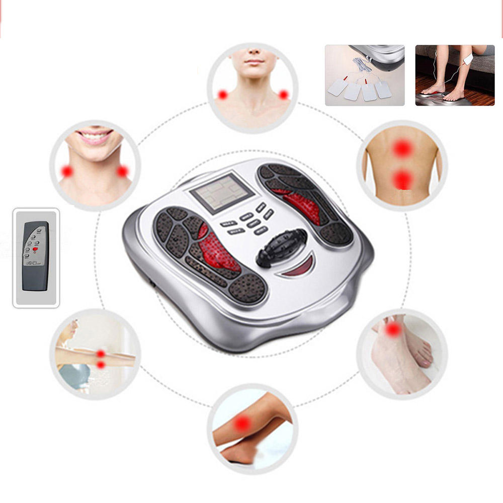 220V 5W Electric Foot Massage Roller Wheel infrared Acupuncture Heating Foot Physiotherapy Massager