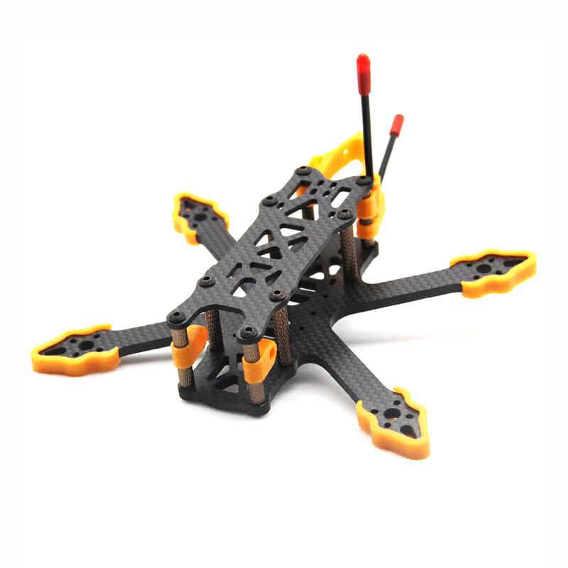ZJWRC 140 millimetri interasse 3 Pollici 4mm Braccio in fibra di carbonio FPV Racing Frame Kit per RC Drone