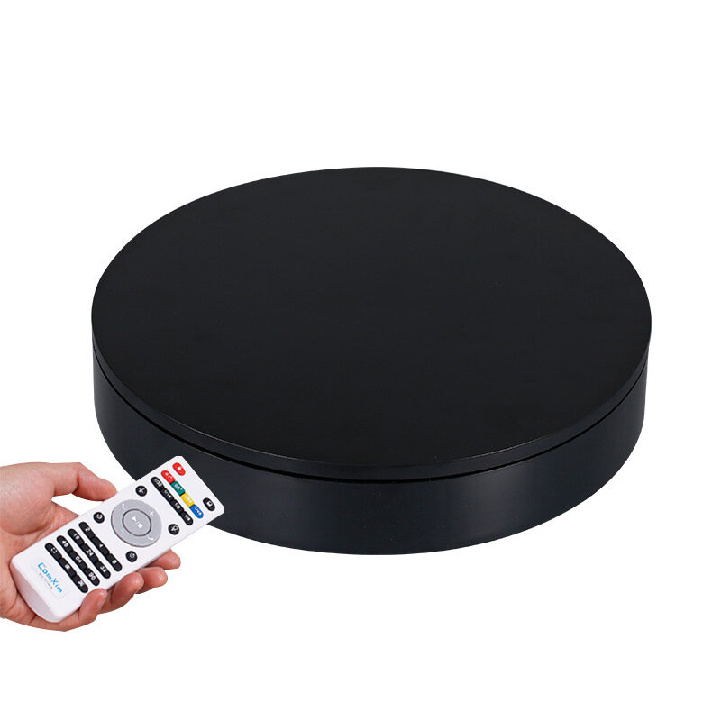 32cm Speed Direction 360 Degree Auto-Rotation Photography Prop 40KG Max Load Rotating Turntable Display Stand