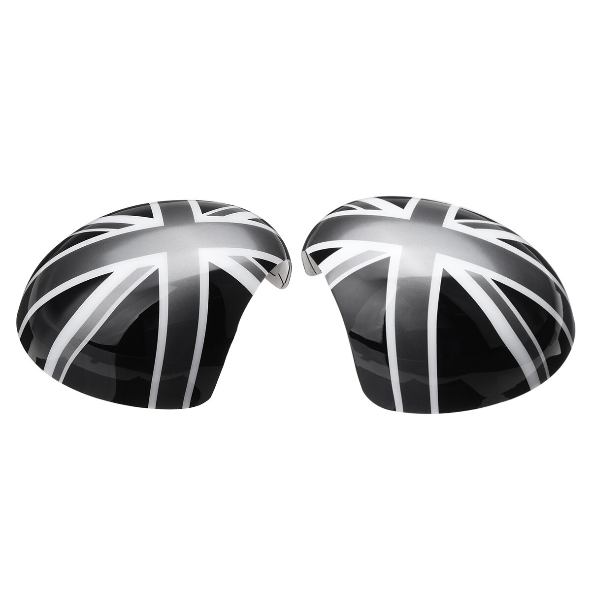 Union Jack Car Wing Mirror Cover Pair for MINI Cooper R55 R56 R57 R60 Power Fold Model