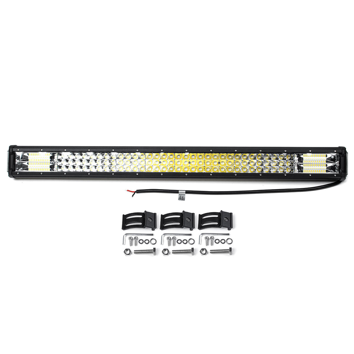 32'' 160W Off Road LED Work Light Bars Combo Spot Driving Lamp Truck Boat SUV