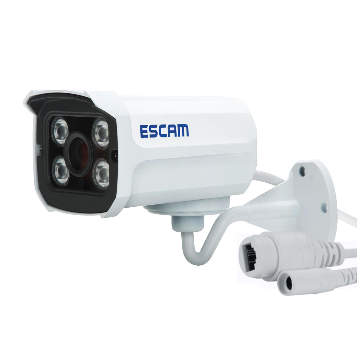 Escam Brick QD300 ONVIF HD 1080P P2P Cloud IR Security IP Camera POE IP66 Waterproof Upgraded Version