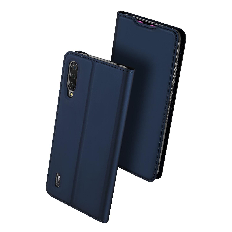 Dux Ducis Flip Slot para cartão Suporte à prova de choque de corpo inteiro de couro PU de proteção Caso para Xiaomi Mi9 Mi 9 Lite / Xiaomi Mi CC9