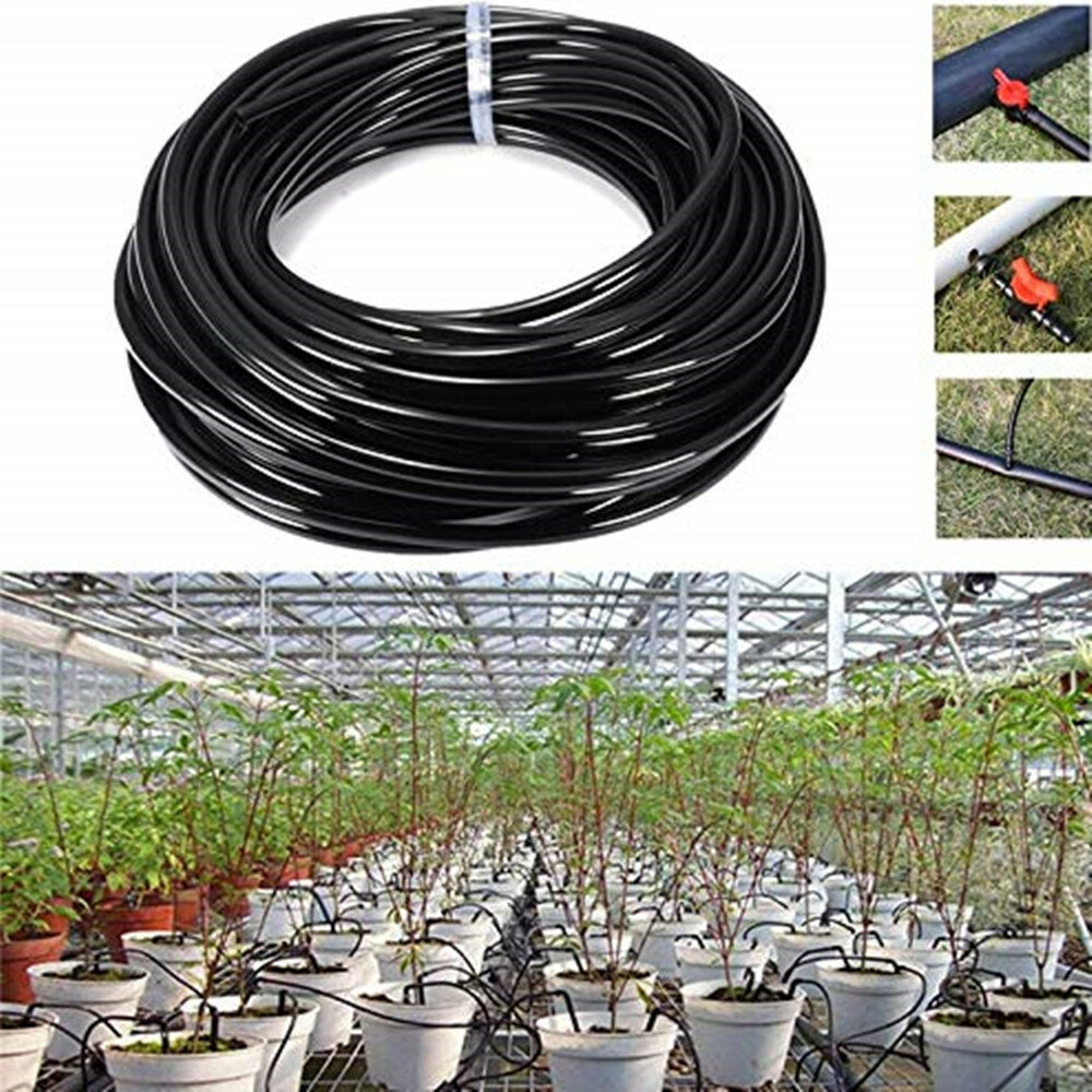 10m/15m/25m Watering Tubing PVC Hose Pipe 4/7mm Drip Irrigation Pipe Watering Sprinkler Home Garden Micro Drip