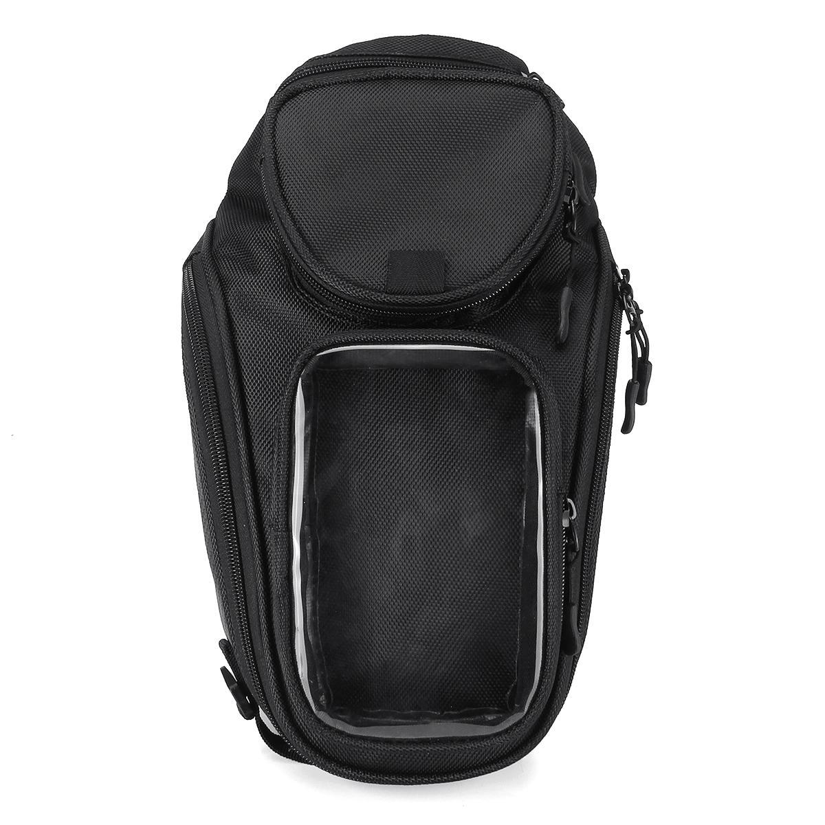 Oxford Waterproof Motorcycle Bike Bag Saddlebag Phone Holder Oil Tank Bag