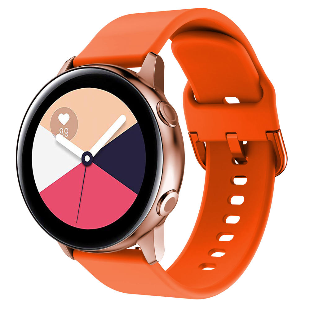Bakeey Universal 20mm Assista Banda Bracelete Silicone para BW-HL1 / Galaxy Watch Active 2 / Amazfit Bip Lite Smart Watch