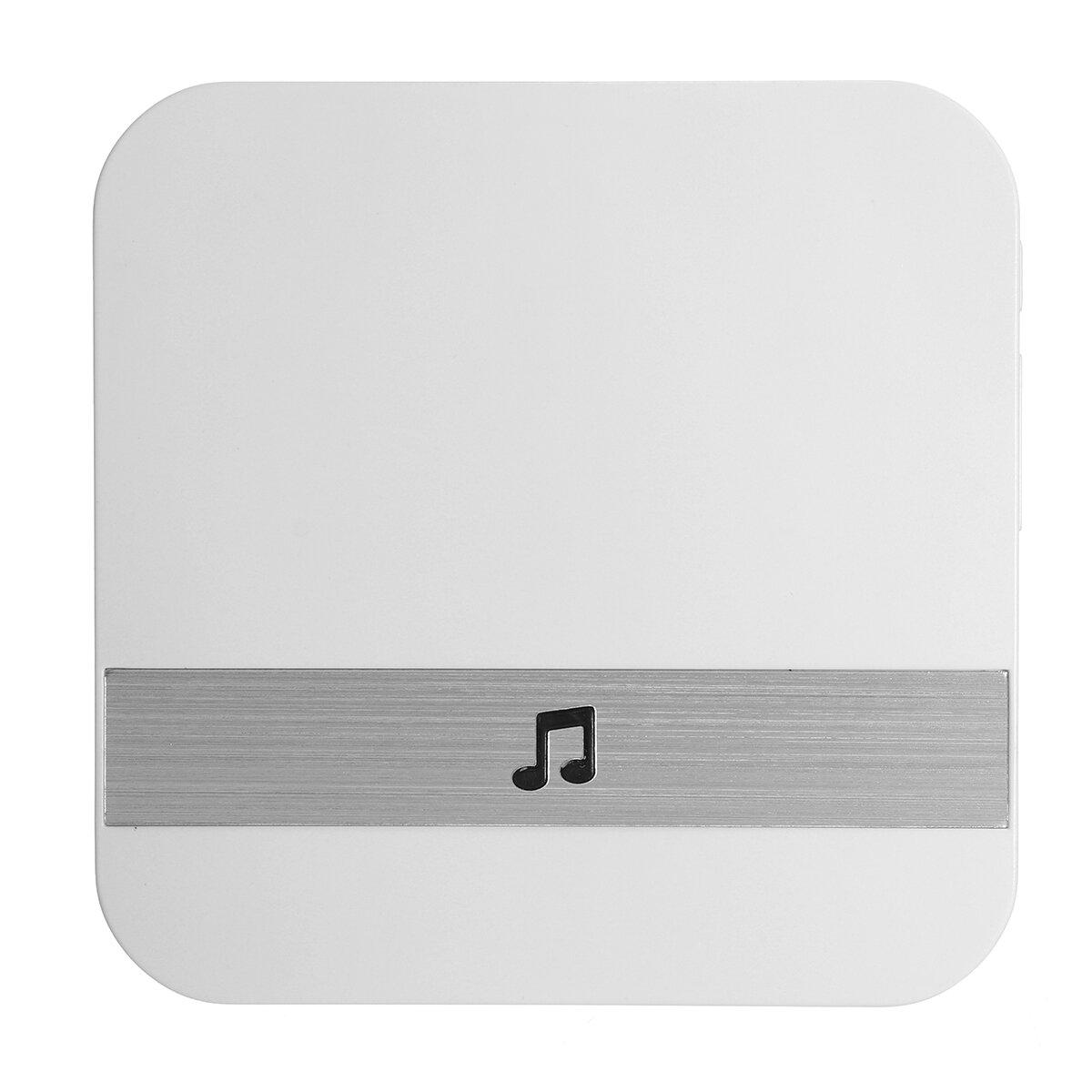 無線WIFIのビデオドアベルのチャイム機械52視覚防水ドアベルのための音楽