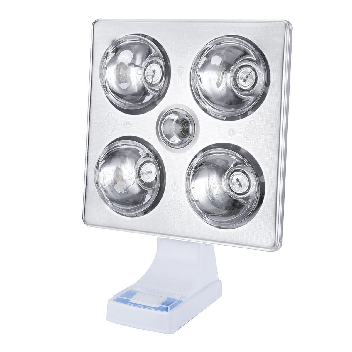 3 в 1 потолочный настенный светильник Отопительный вентилятор Светодиодный Белый для Ванная комната