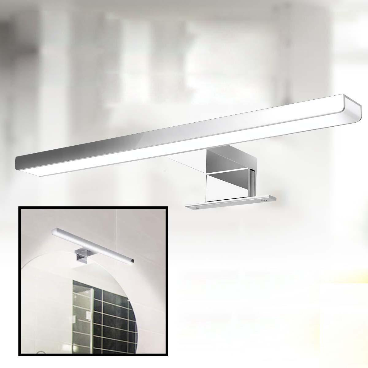 6W 600LM LED Wall Lamp Strip for Kitchen Cabinet Mirror Makeup Light AC110-240V
