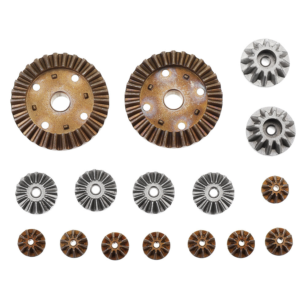 Wltoys Metal Differential Main Gear Set For 12427 12428 144001 RC Car Parts