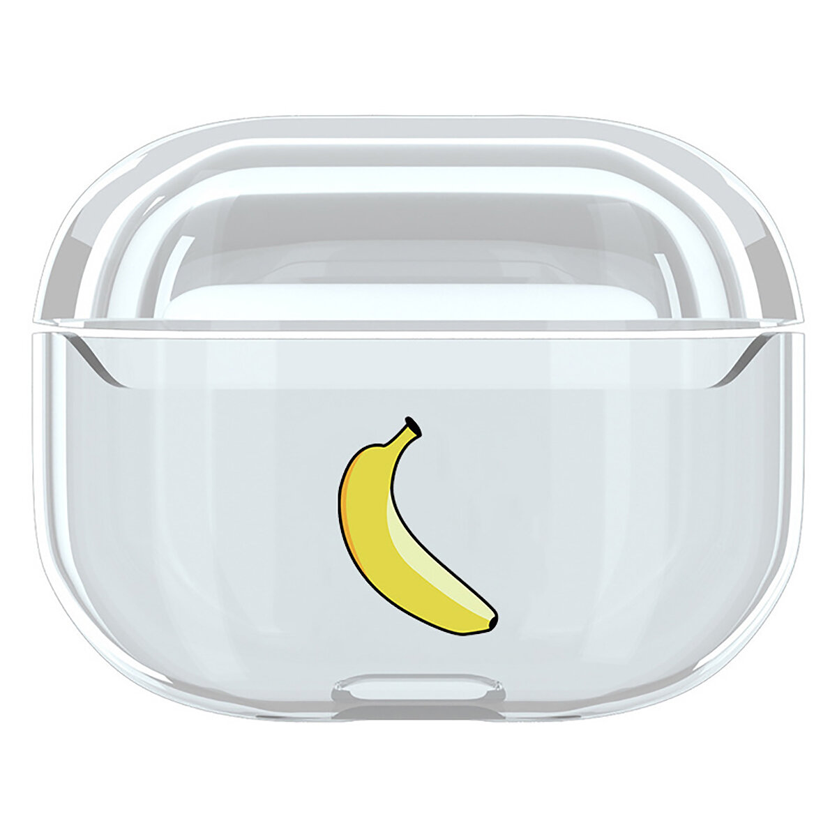 Cute Cartoon Patrón Clear Hard Funda protectora a prueba de golpes Caso Auricular Storage Caso Para Apple para AirPods 3