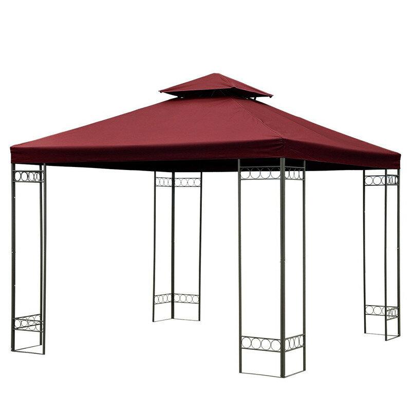3x3 м 10-футовый двухъярусный запасной топ с беседкой Сад Крышка для палатки в павильоне с внутренним двориком
