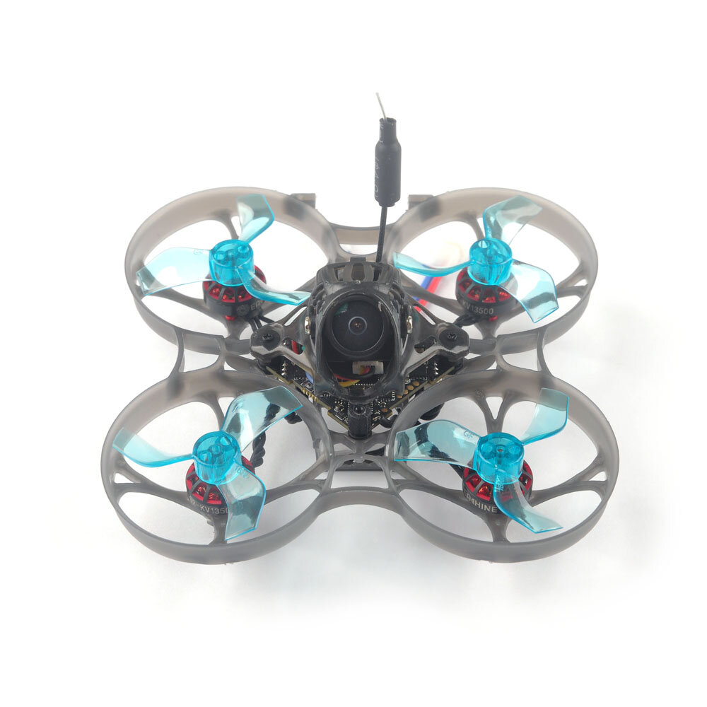 Eachine Novice-I 75mm 1-2S Whoop FPV Racing Drone RTF & Fly more w / WT8 2.4G Transmitter 5.8Ghz 48CH VR005 Goggles