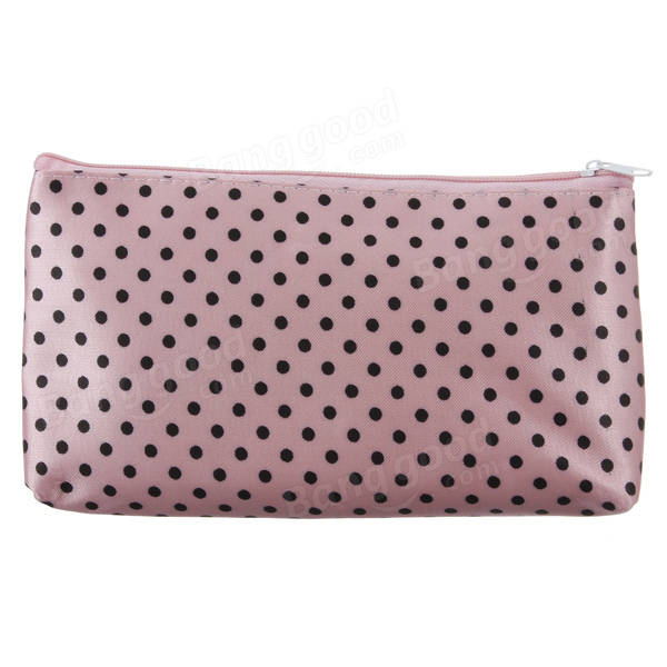 Lady Makeup Cosmetic Tool Travel Coin Phone Bag Card Purse Pen Pouch