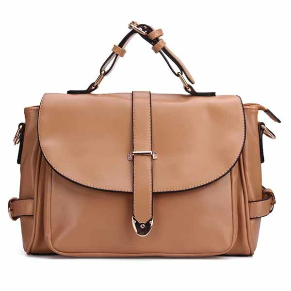 Candy Color Women Crossbody Shoulder Bags Retro Messenger Bags Handbags