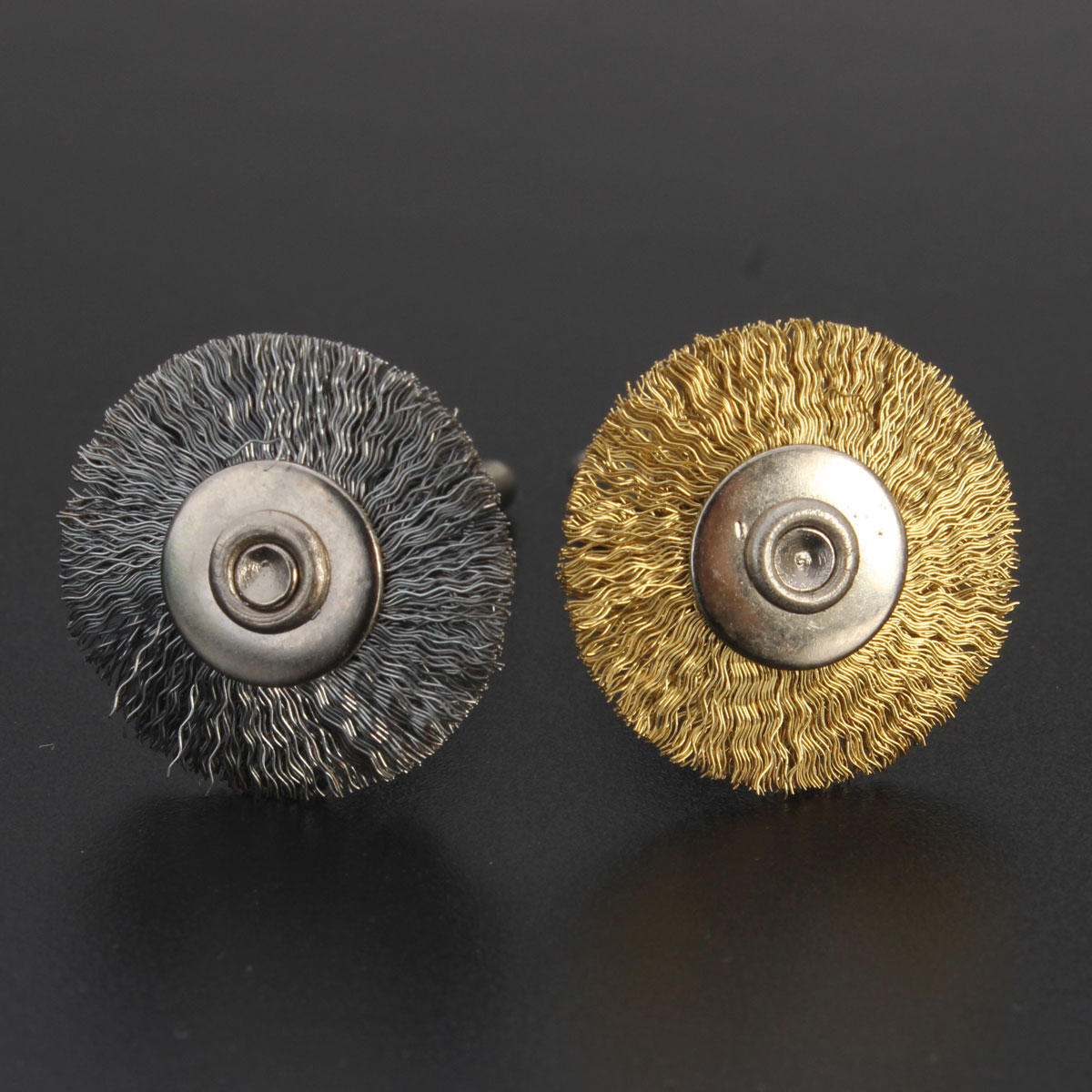 Steel/Copper Wire Brush Wire Wheel Brush for Grinder Dremel Rotary Tool Polishing Tool
