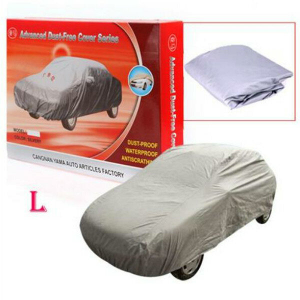 4.7M L Universal Anti Rain Snow Dust UV Outdoor Full Car Auto Cover