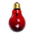 AC110V 50W Grey Red Blue Heat Lamp Heating Infrared Pet Light Bulb for Reptile Tortoise