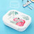 Microwavable Lunch Box 304 Stainless Steel Bento Box With Compartments School Office Food Container