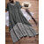 Plus Size V-neck Short Sleeves Double Layers Patchwork Maxi Dress