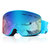 Ski Goggles Dual Lens Scratch Resistant Lens TPU Frame Anti Fog UV Protection Protective Goggles