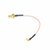 2PCS MMCX to SMA Male Adapter Cable Conversion Wire 10cm For FPV Transmitter VTX / Receiver VRX Antenna