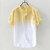 Mens Farbverlauf Sommer Trendy Cotton Breathable lose beiläufige T-Shirts