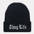 Unisex Letter Embroidery Casual Wild Knit Hat Hip-hop Hat Beanie
