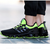 US Size 7.5-10 Outdoor Running Tank Bottom Desporto Masculino Blade Cattle PVC antiderrapante respirável Shoes