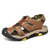 Soft Sole Outdoor Hollow Out Hiking Camouflage Band Beach Sandals