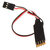 190mm 3CH LED Light Switch System W/ Flashing Light Function Turn ON / OFF for RC Car Model Parts